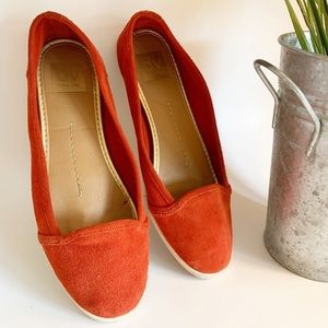 DOLCE VITA red slip on shoes